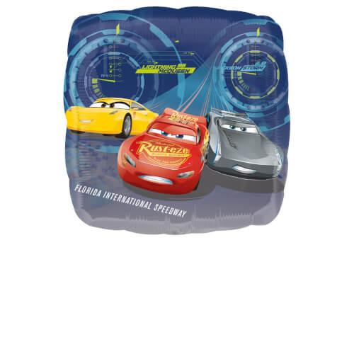 Standard Cars 3 - Lightning  McQueen Folienballon, S60, verpackt, 43cm