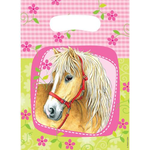 6 Partytüten Charming Horses