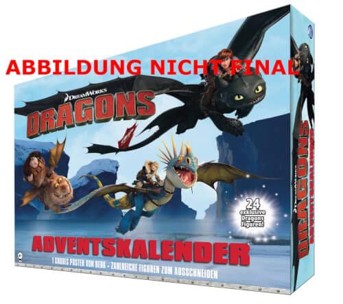 Spin Master Drachen Adventskalender ''Drachen zähmen leicht gemacht'' (Dragons)