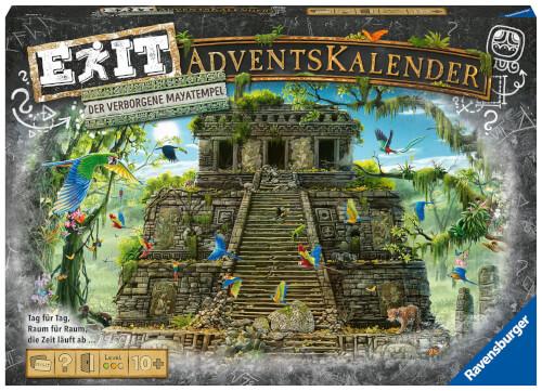 Ravensburger 18956 EXIT Adventskalender - Der verborgene Mayatempel