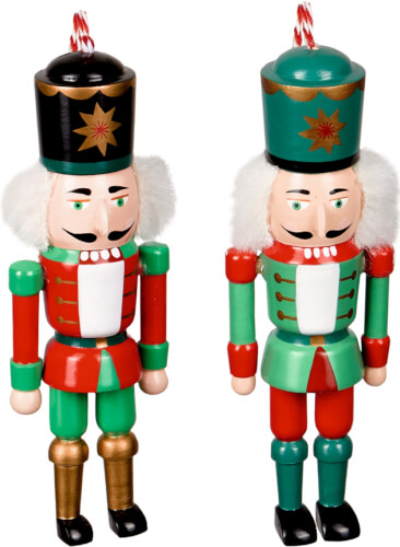 Nussknacker-Anhänger Weihnachtszeit!,