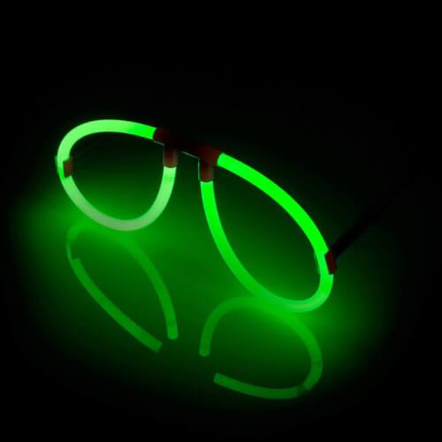 Knicklicht Spaßbrille, grün