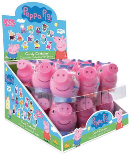 Peppa Pig Candy Container