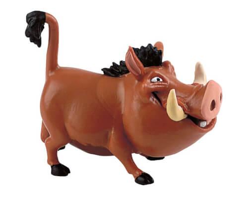 Bullyland Walt Disney König der Löwen- Pumbaa, ab 3 Jahren.