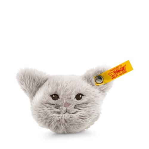 Steiff Magnet Katze, grau, 6 cm