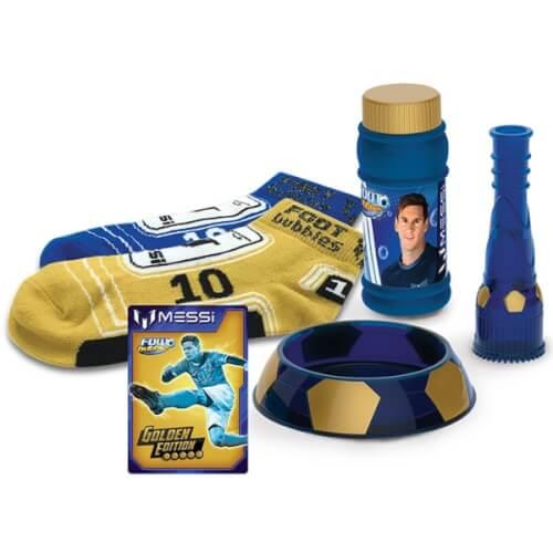 MESSI Footbubbles Golden Edition, Kunststoff, ab 4 Jahre