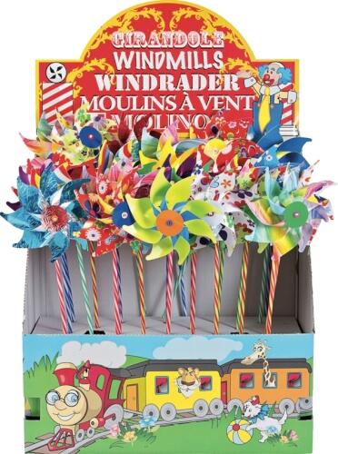 Windrad ca. 16cm, sortiert