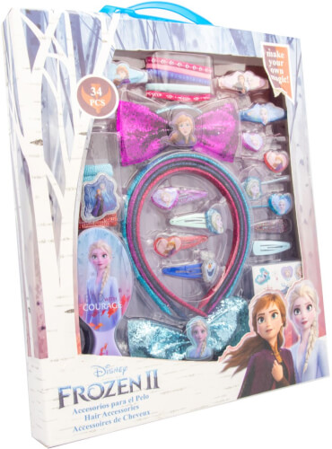 Frozen II Schmuck- und Haarschmuckset 34tlg.