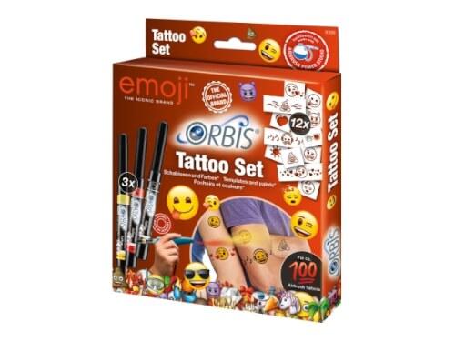 REVELL 30309 Tattoo-Set Emoji für das neue Orbis Airbrush Power Studio (30020)