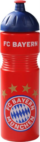FC Bayern Trinkflasche rot