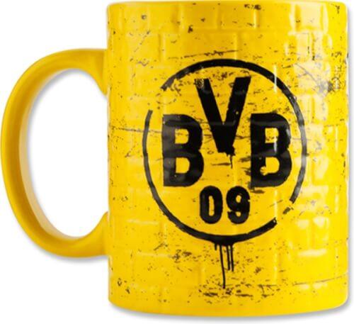 BVB Tasse Gelbe Wand