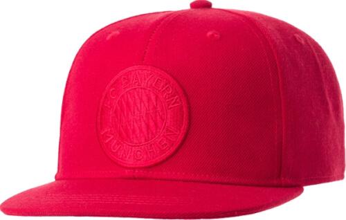 FC Bayern Snapback Cap Emblem rot