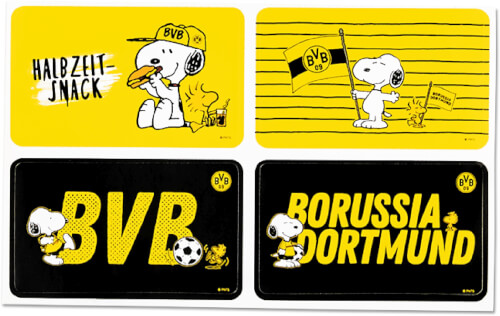 BVB-Aufkleber Snoopy
