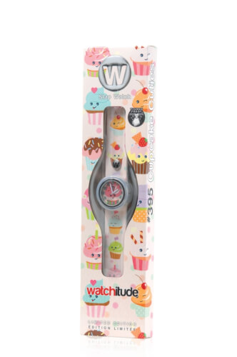 watchitude Slap Uhr Cupcake Cuties