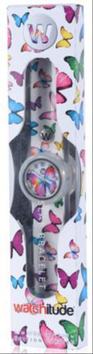 watchitude Slap Uhr, Butterfly Gems