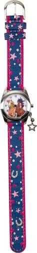 Armbanduhr Pferdefreunde (mit Sternen-Anhänger)