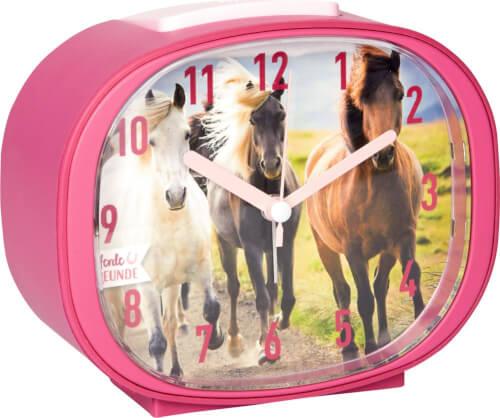 Wecker Pferdefreunde  mit Wieher-Weckton
