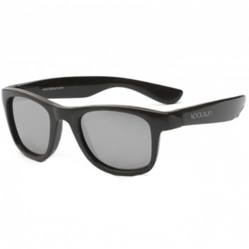 KOOLSUN- Wave Kinder Sonnenbrille, Black Onyx, ab 3 Jahren
