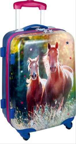 Hartschalentrolley I love horses  Pferde