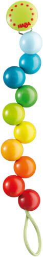 HABA Schnullerkette Regenbogen-Perlen
