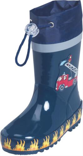 Playshoes Gummistiefel Feuerwehr, Gr. 24/25