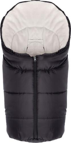 Fillikid Winterfußsack Eco Small Gr. 0, Polyester, schwarz