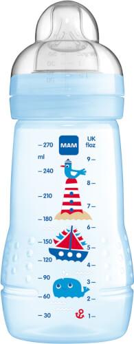 MAM Easy Active Baby Bottle, 270 ml