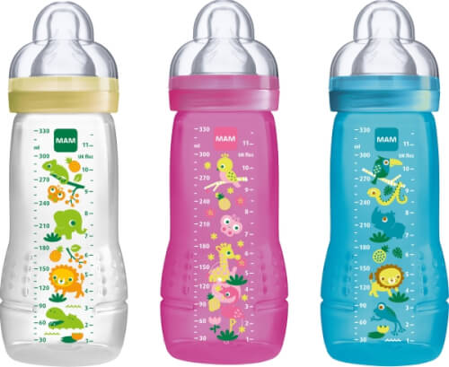 MAM Easy Active Baby Bottle, 330 ml