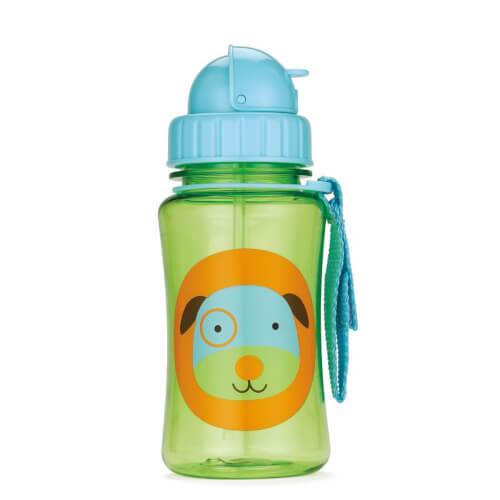 Skip Hop Zoo Straw Bottle Dog