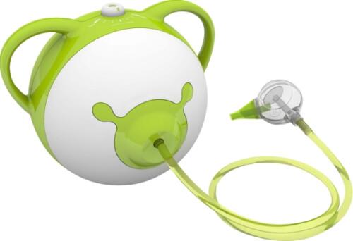 Nosiboo Pro elektrischer Nasensauger für Babys , grün