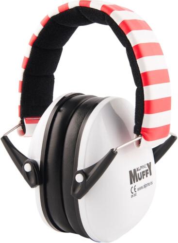 Alpine Muffy Baby Weiß - Kapselgehörschützer für Babys und Kleinkinder, ab 3 Jahren