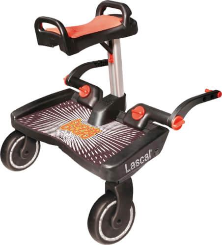 BuggyBoard Maxi mit Sitz, rot