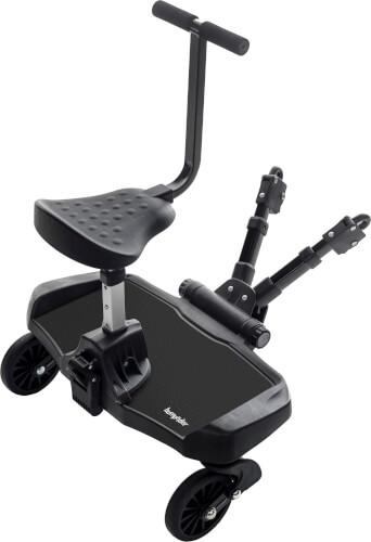 Bump Rider für Kinderwagen, inkl. Sitz, schwarz