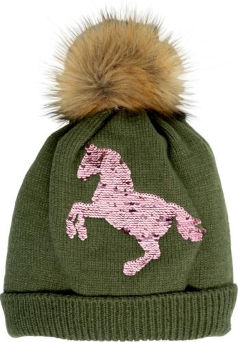 Mütze I LOVE HORSES, one size (ca. 8-12 Jahre)
