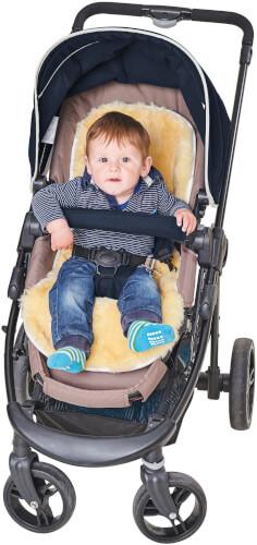 Lammfell Kinderwagen Einlage