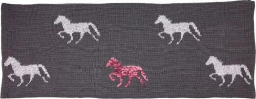 Loop-Schal I LOVE HORSES  Umfang ca. 132 cm