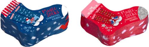 Magic Socks  Fröhl. Weihnachten!  Gr.26-36, sortiert