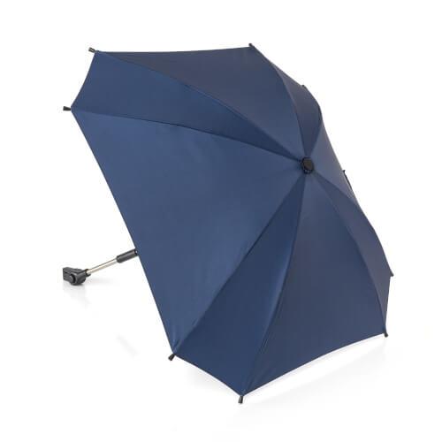 ShineSafe Kinderwagen-Sonnenschirm, blau