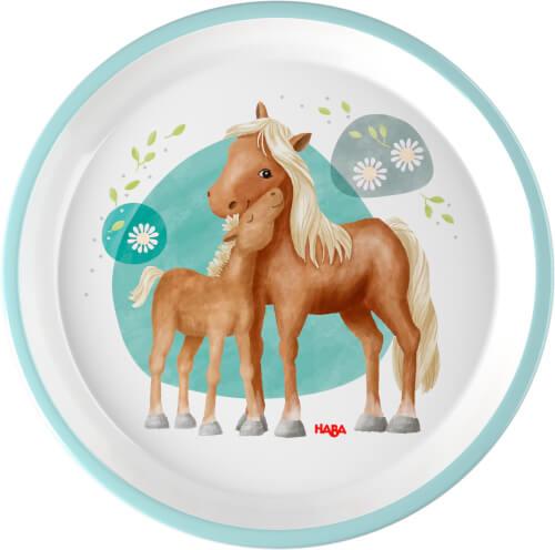 HABA Teller Pferde