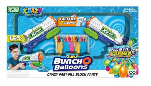 Bunch o Balloons Wasserbomben & Spritzpistolen Set