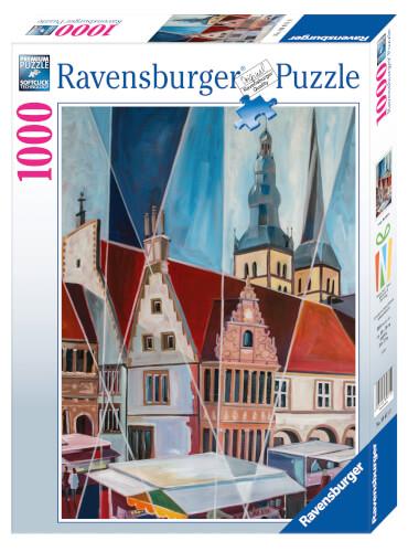 Ravensburger Puzzle Lemgo Marktplatz 1000 Teile