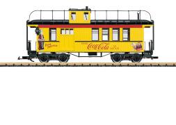 LGB L40757 G Coca-Cola® Caboose