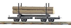 H0-Drehgestell-Baumstammwagen