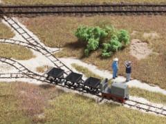 H0-Feldbahnset - Attrappe