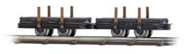 2 PLattform-Rungenwagen H0