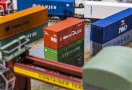 H0 20' Container HAMBURG SÜD