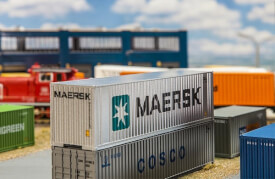H0 40' Hi-Cube Container MAERSK