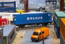 H0 40' Hi-Cube Container HANJIN