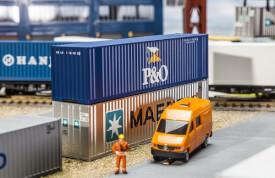 H0 40' Hi-Cube Container P&O