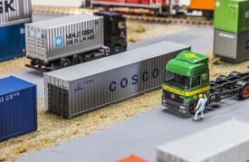 H0 40' Container COSCO